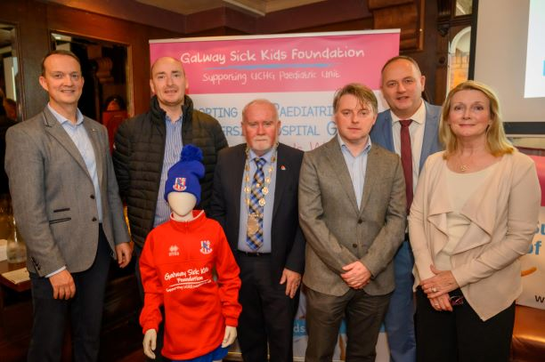 launch of Galway Sick Kids